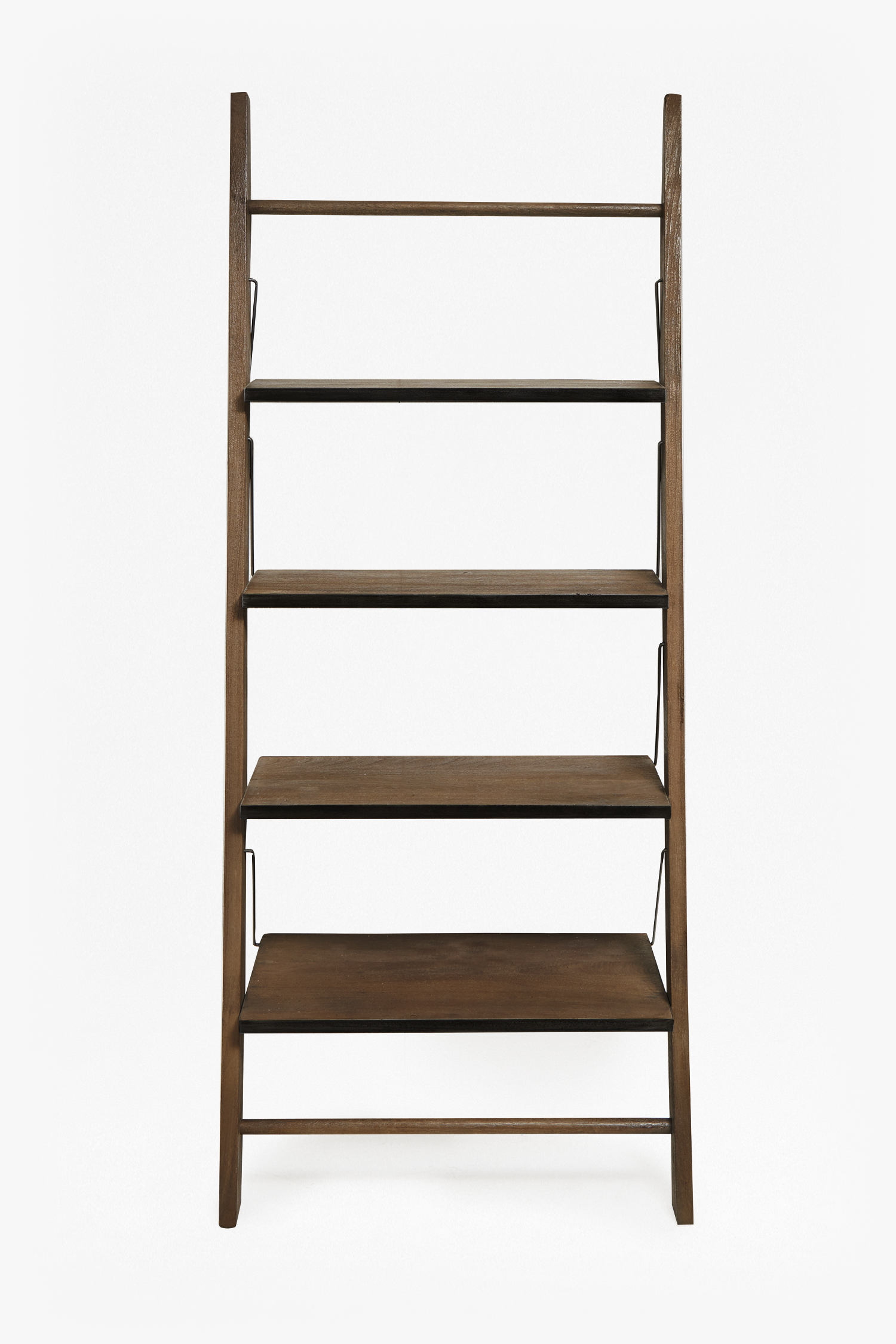 Wood Zinc Ladder Shelving Collection French Connection