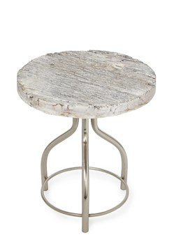 Captivating Driftwood Side Table