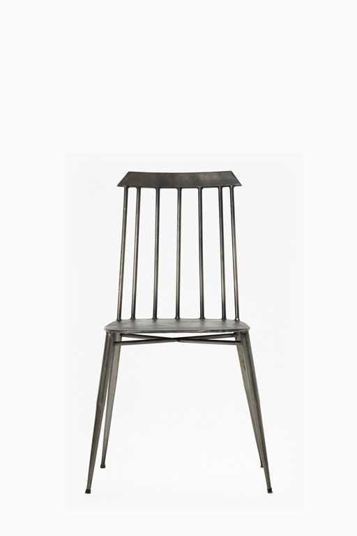 ecliptic metal chair