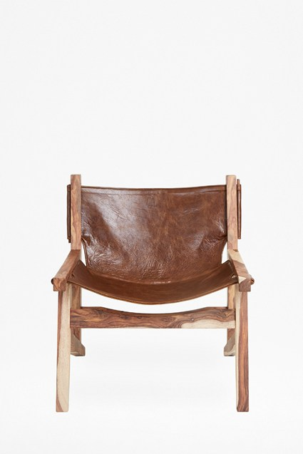 Coco Sling Leather Chair