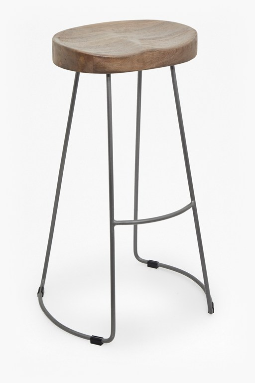 As Seen In Press Large Roger Bar Stool