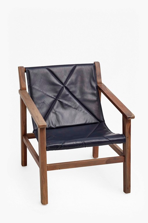 Complete the Look Leather Sling Back Chair
