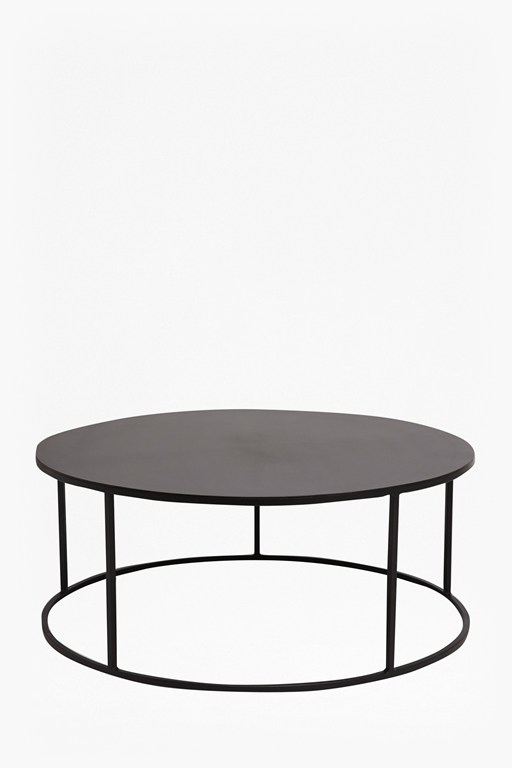 gunmetal coffee table