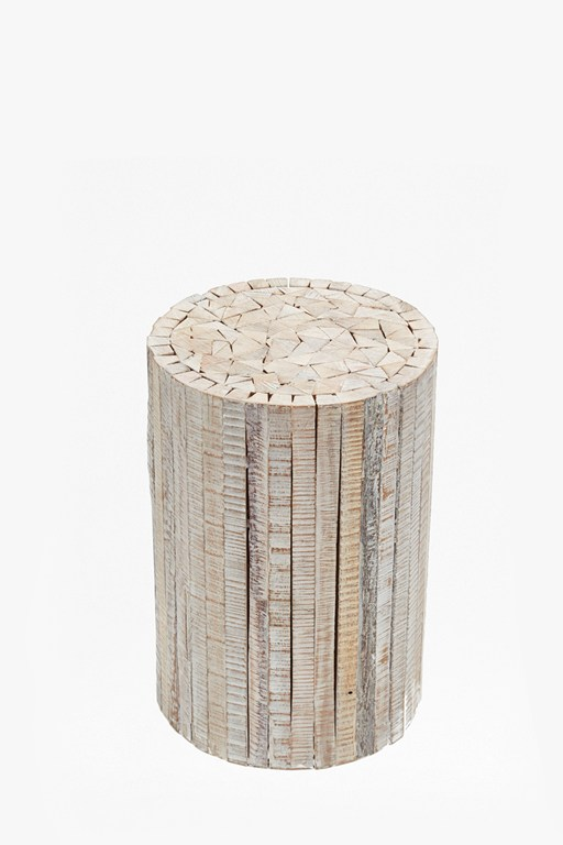 Complete the Look Natural Driftwood Stool Medium