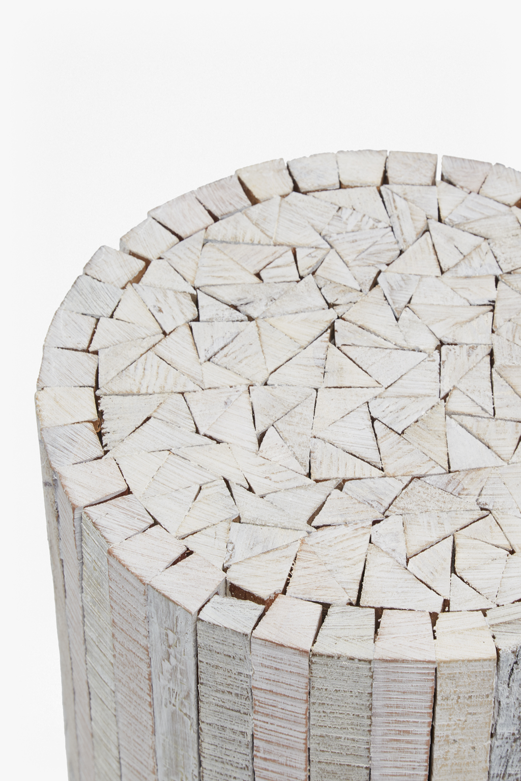 Natural Driftwood Stool Large
