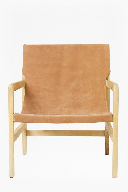 Complete the Look Elba Tan Leather Chair