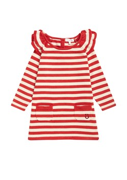 Selina Stripe Knits Frill Dress