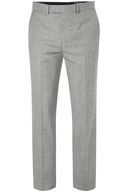 Mohair Look Wool Trousers