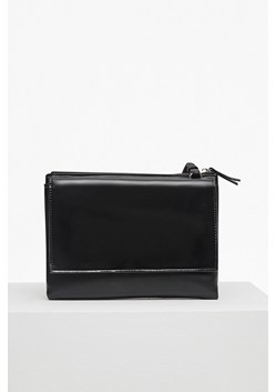Clean PU Callie Zip Pouch