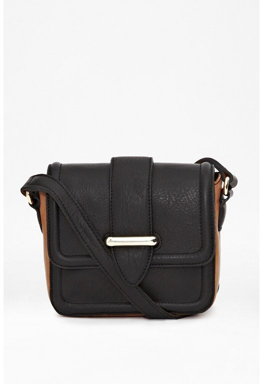 Greek Leather Crossbody Bag