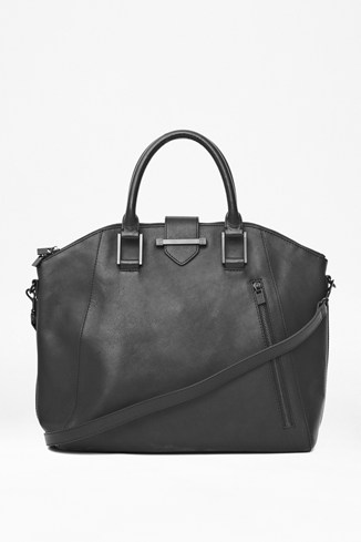 Get Your Kicks Large Leather Tote