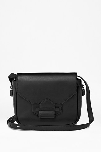 Get Your Kicks Leather Cross-Body Bag