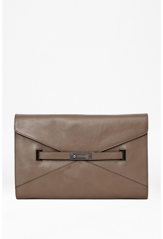 Game On Leather Clutch