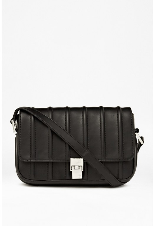 Between The Lines Shoulder Bag