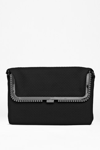 Fold-Over Layered Clutch