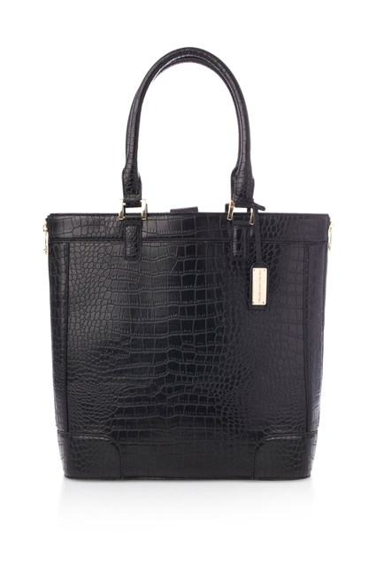 Camden Croc Zip Shopper