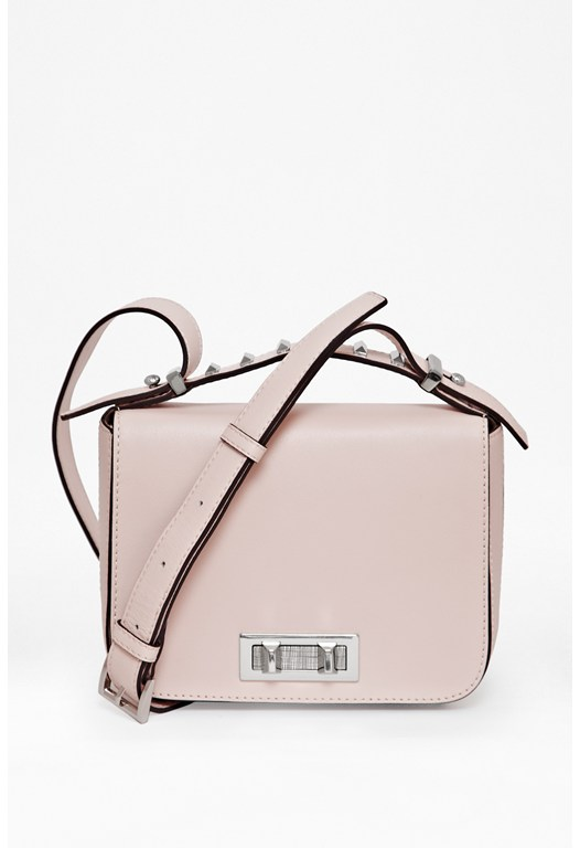 Jade Leather Crossbody Bag