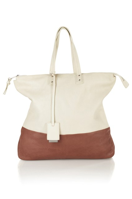 Morris Leather Shopper