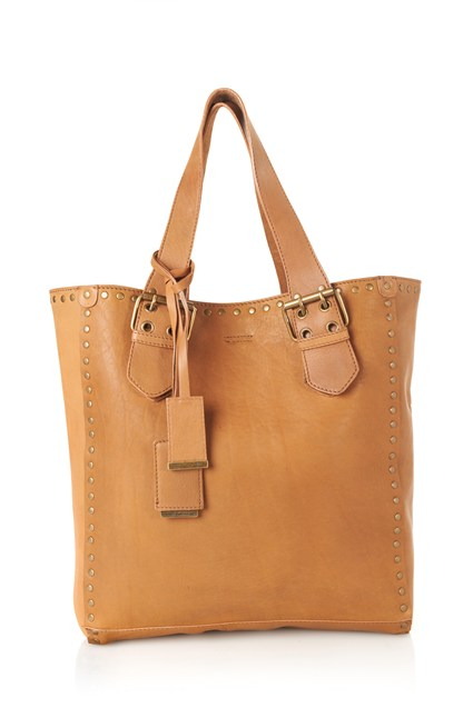 Isla Leather Shopper