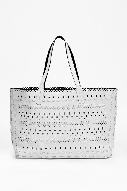 Mae Leather Tote