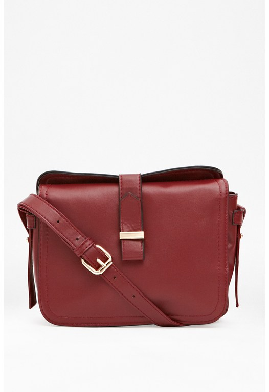 Block Colour Crossbody Bag