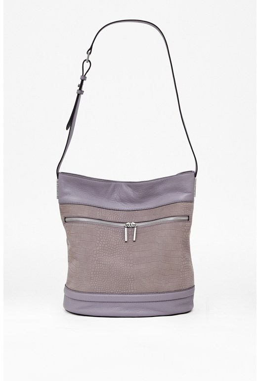 Scarlett Leather Bucket Bag