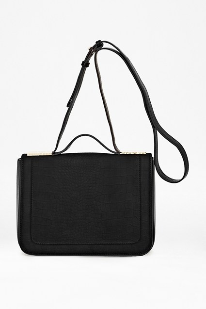 Lexi Embossed Leather Bag