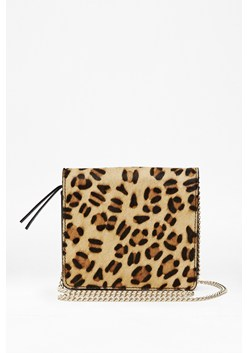 Chlo Leopard Print Cross Body Bag