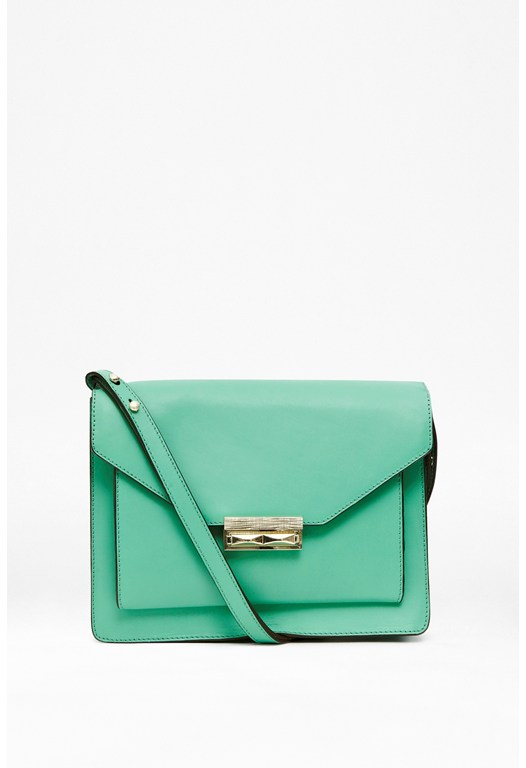 Macie Leather Shoulder Bag