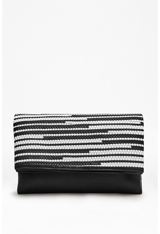 Kayla Fold Down Leather Bag