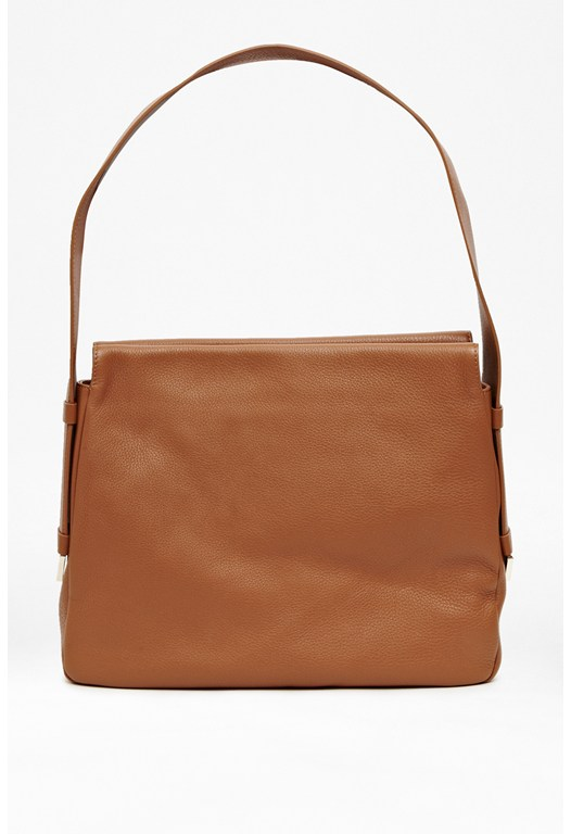 Flori Leather Shoulder Bag
