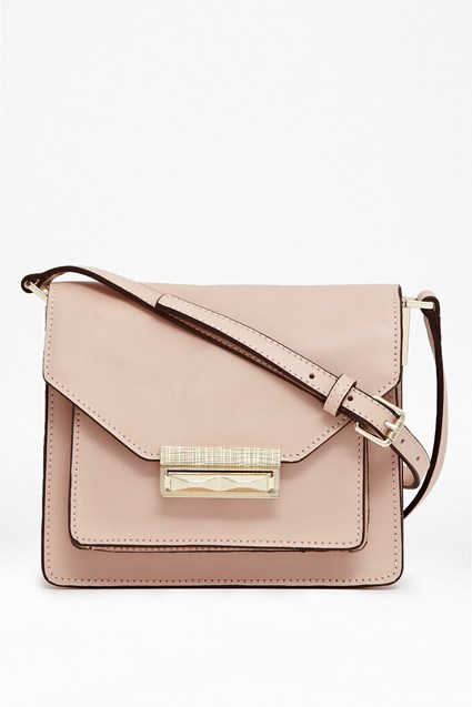 Dayna Leather Cross Body Bag