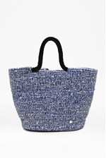 Looks Great With Woven Beach Bag