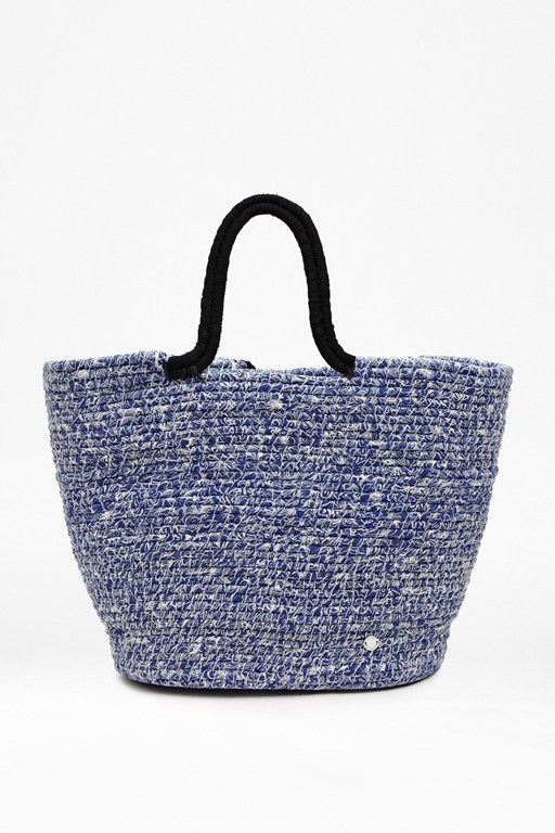 Complete the Look Woven Beach Bag
