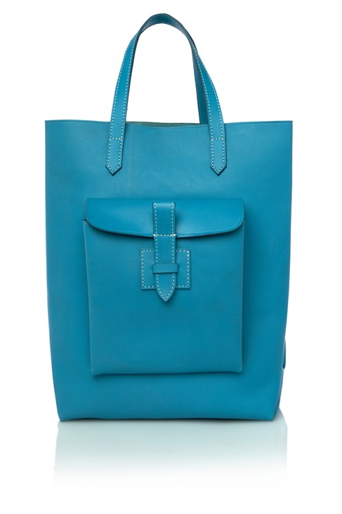 Leather Shopper Handbag