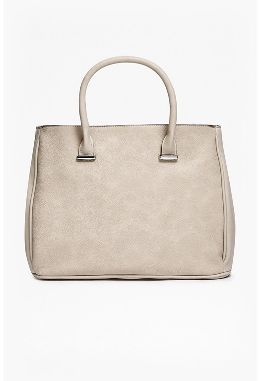 Leonora Faux Leather Tote