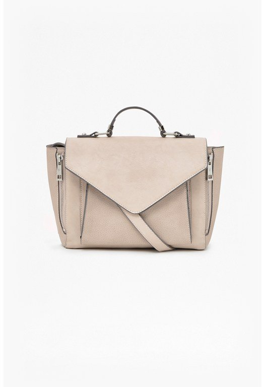 Leah Fold-Over Satchel