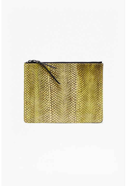 Patsy Watersnake Zip Pouch