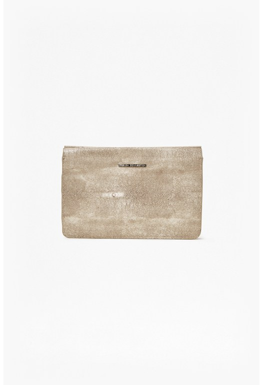 Maggie Large Pebbled Clutch