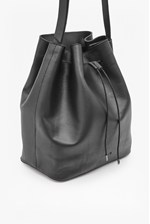 Looks Great With Sally Leather Bucket Bag