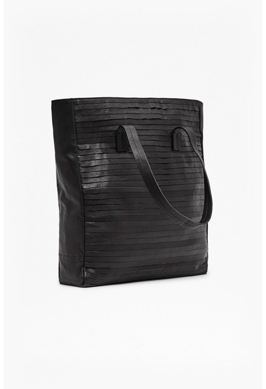 Frankie Folded Leather Tote Bag