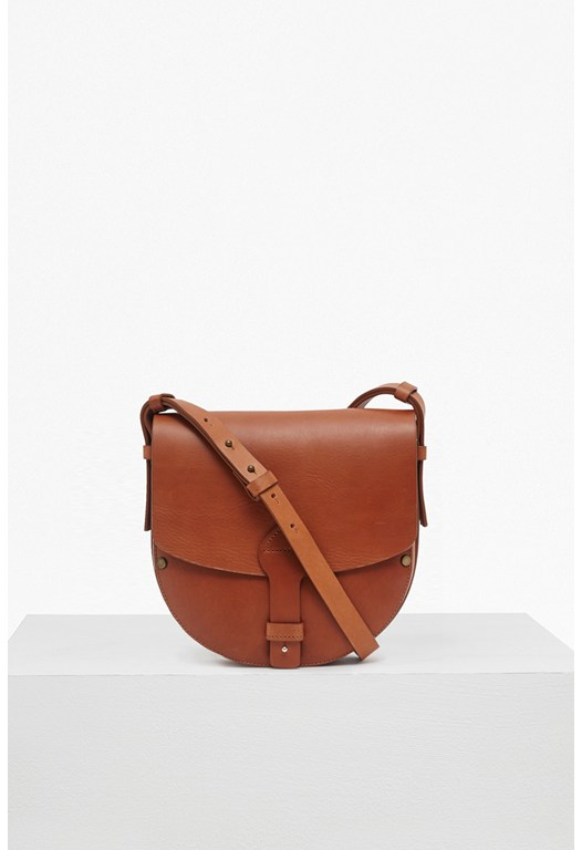 Raw Saddle Leather Bag
