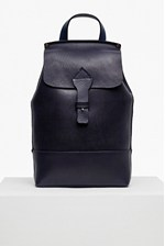 Looks Great With Raw Saddle Leather Backpack