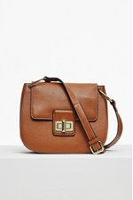 Looks Great With Fiona Faux Leather Saddle Bag