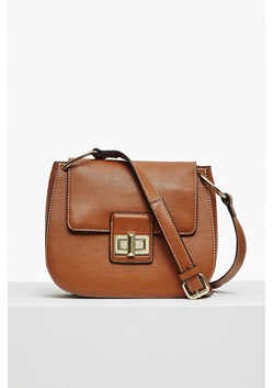Fiona Faux Leather Saddle Bag