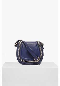 Alexa Faux Leather Saddle Bag