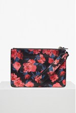 Looks Great With Printed Saffiano Zip Pouch
