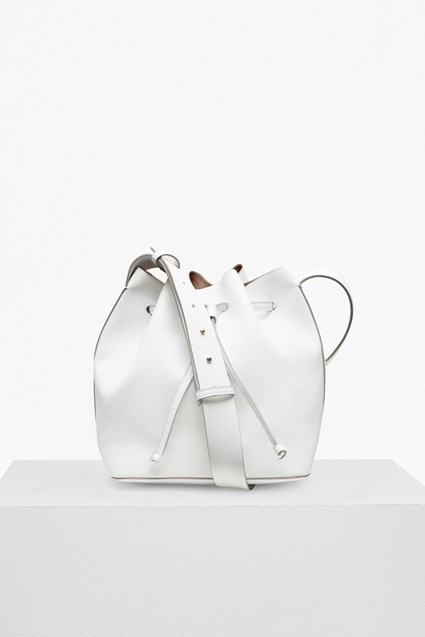 Core Faux Leather Bucket Bag