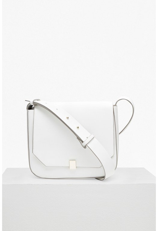 Core Faux Leather Cross Body Bag