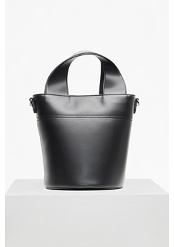 Wide Strap Bucket Bag